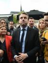Emmanuel Macron of Marine Le Pen
