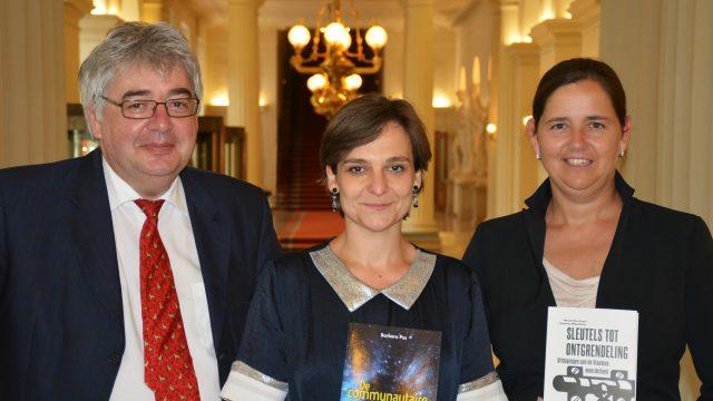Hendrik Vuye, Veerle Wouters en Barbara Pas