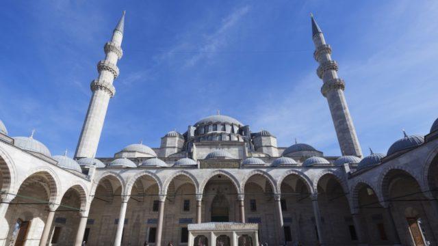 Moskee in Istanbul, Trukije