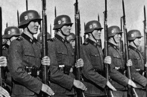 Soldaten van de Waffen SS