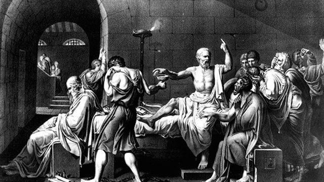 De dood van Socrates