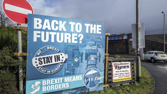 De Noord-Ierse grens