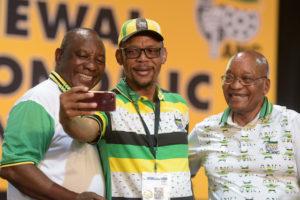 Jacob Zuma en Cyril Ramaphosa