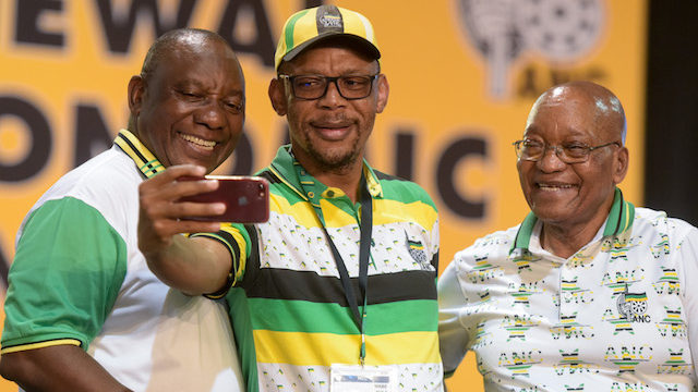 Jacob Zuma en Cyril Ramaphosa