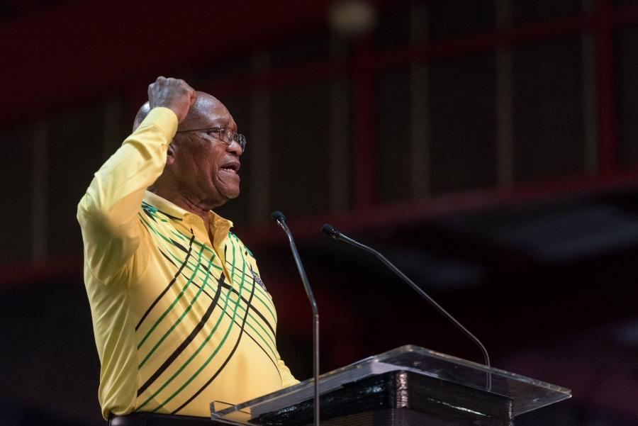 best gedaan om zichzelf, het ANC en Zuid-Afrika in de vernieling te rijden.