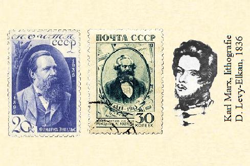 Engels, Marx, en nogmaals Marx