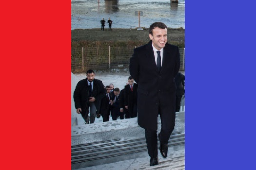 Macron en zijn hufter