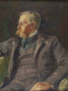 Portret van Emile Verhaeren door Constant Montald uit 1913