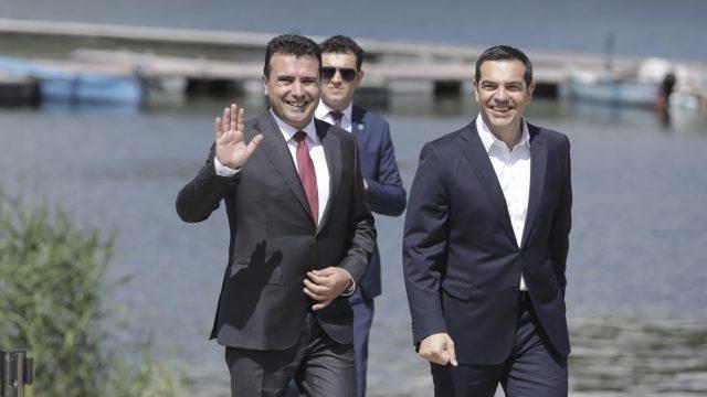 Griekenland en Noord-Macedonië sluiten akkoord over naam