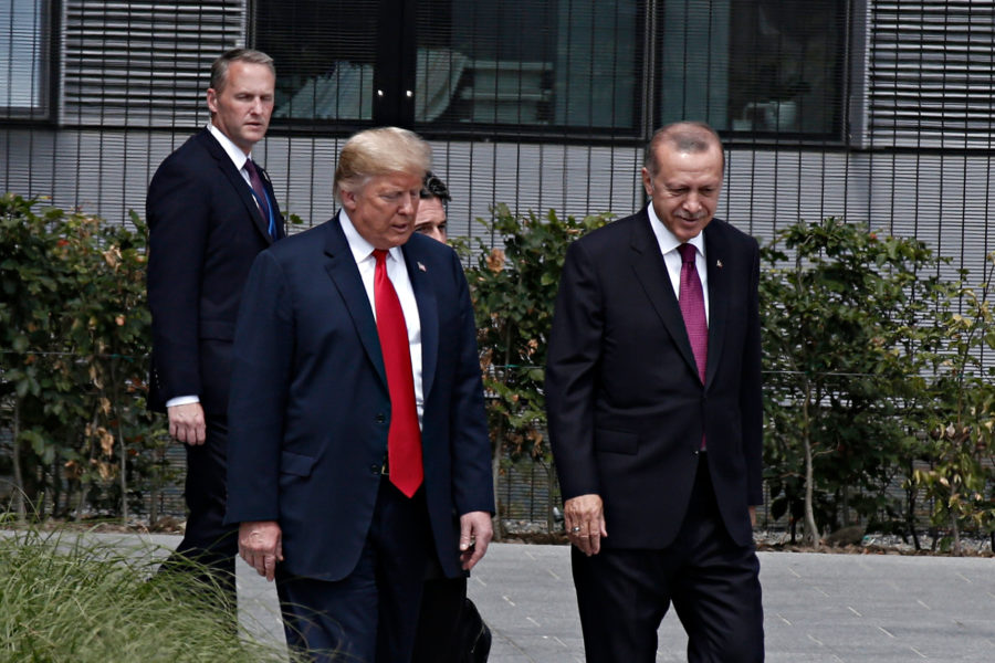 Trump Erdogan NAVO