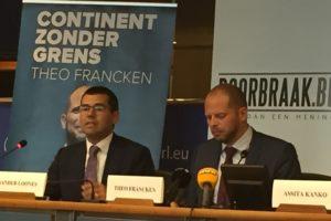 Sander Loones en Theo Francken
