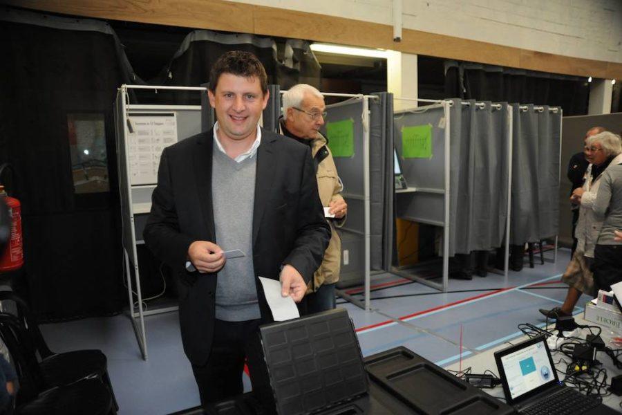 John Crombez stembiljetten