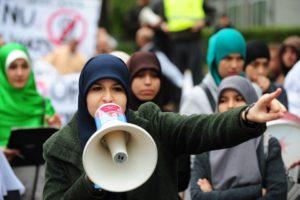 Islam Hoofddoekprotest