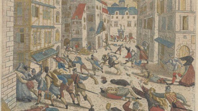 Spaanse furie in Antwerpen (Frans Hogenberg)