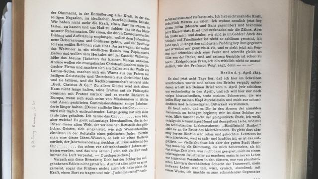 Heinrich Heine (1797-1856) over de plaag der wantsen