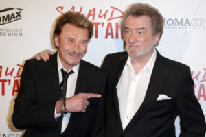 Jean-Philippe Smet&Claude Moine, of Johnny Halliday&Eddy Mitchell