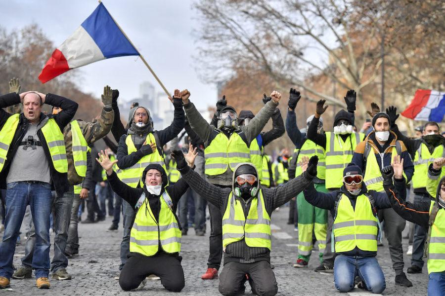 Frankrijk gele vestjes