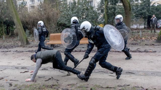 migratie - betoging - soevereiniteit