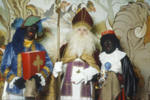 Sinterklaas in Antwerpen (hij was toen nog een paar jaar jonger)