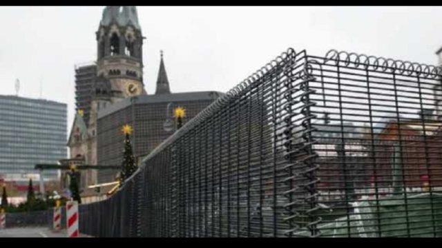Een moderne Berlijnse muur