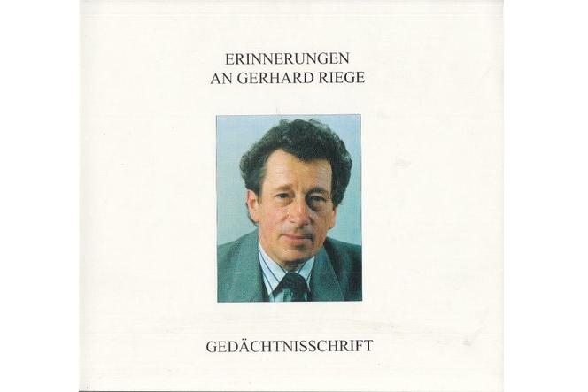 Gerhard Riege