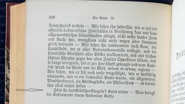Heine ging Nietzsche voor