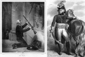 een Vendéen en generaal Jean-Baptiste Kleber