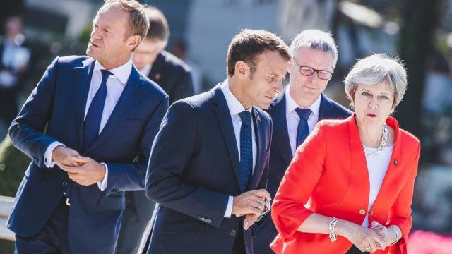 Macron en May