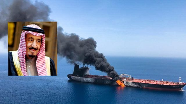 tanker sabotage
