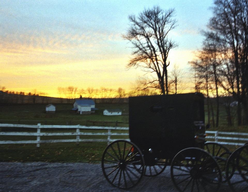 Vrije Amish daterende plaatsen