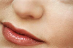 tussen neus en lippen