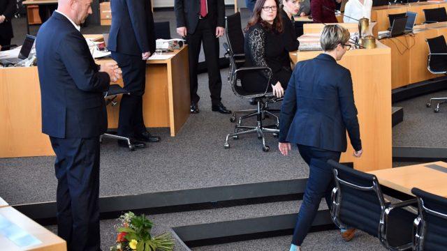 Verkiezing minister-president Thüringen