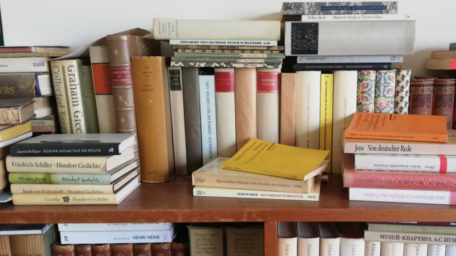Eckermann, Freud, Nietzsche, kies maar uit