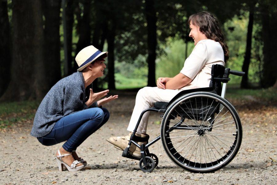 mensen met een handicap