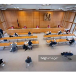 Een coronazitting van het Bundesverfassungsgericht