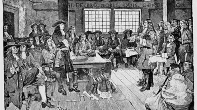 William Penn stichtte de staat Pennsylvania