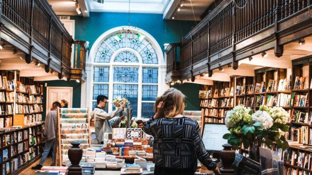 Boekenwinkels blijven belangrijk voor de boekverkoop