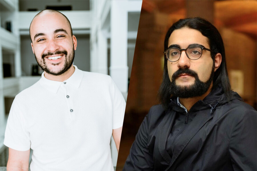 Yousef Kobo en Hassan Al Hilou van A Seat At The Table