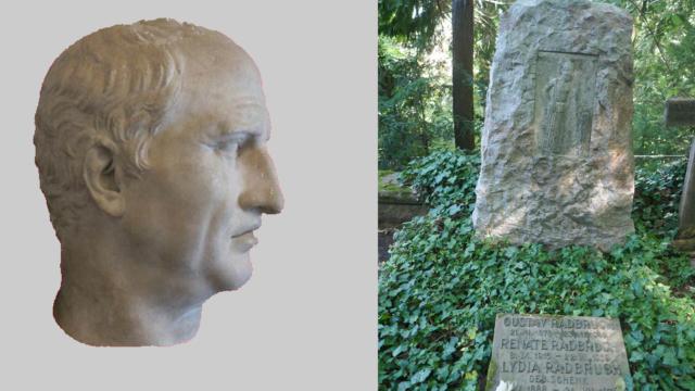 De grafsteen van Radbruch