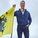 Sam Van Rooy, op de betoging #NietMijnRegering op de Heizel