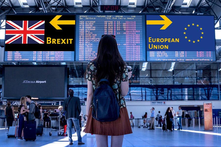De UK verlaat de EU met een brexit-akkoord