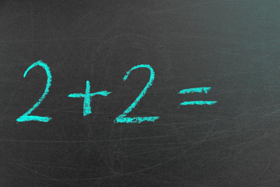 Twee plus twee is geen vier in de staatshervorming
