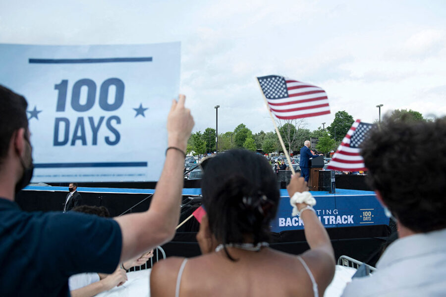 Wat is de balans na 100 dagen Joe Biden?