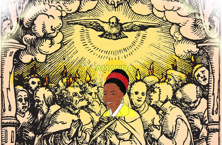 Amanda onder de Apostelen