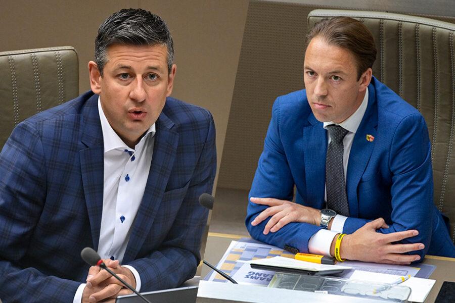 Chris Janssens en Sam Van Rooy
