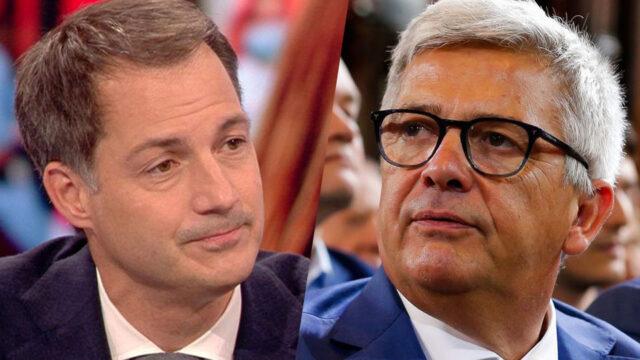 Alexander De Croo en Kris Van Dijck