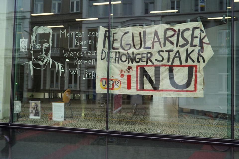 regularisatie hongerstakers