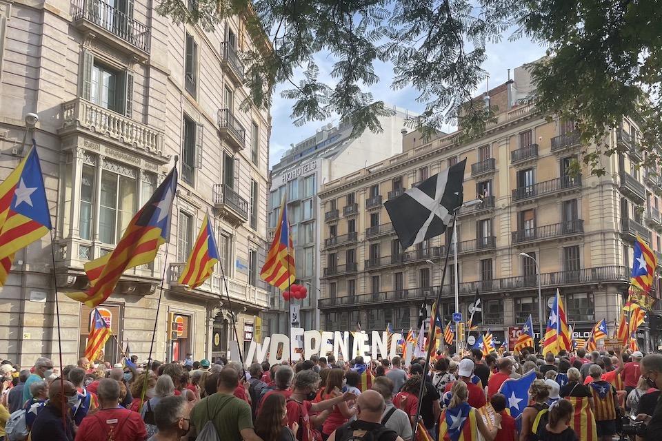 De straten liepen weer vol voor Catalaanse onafhankelijkheid - Doorbraak.be